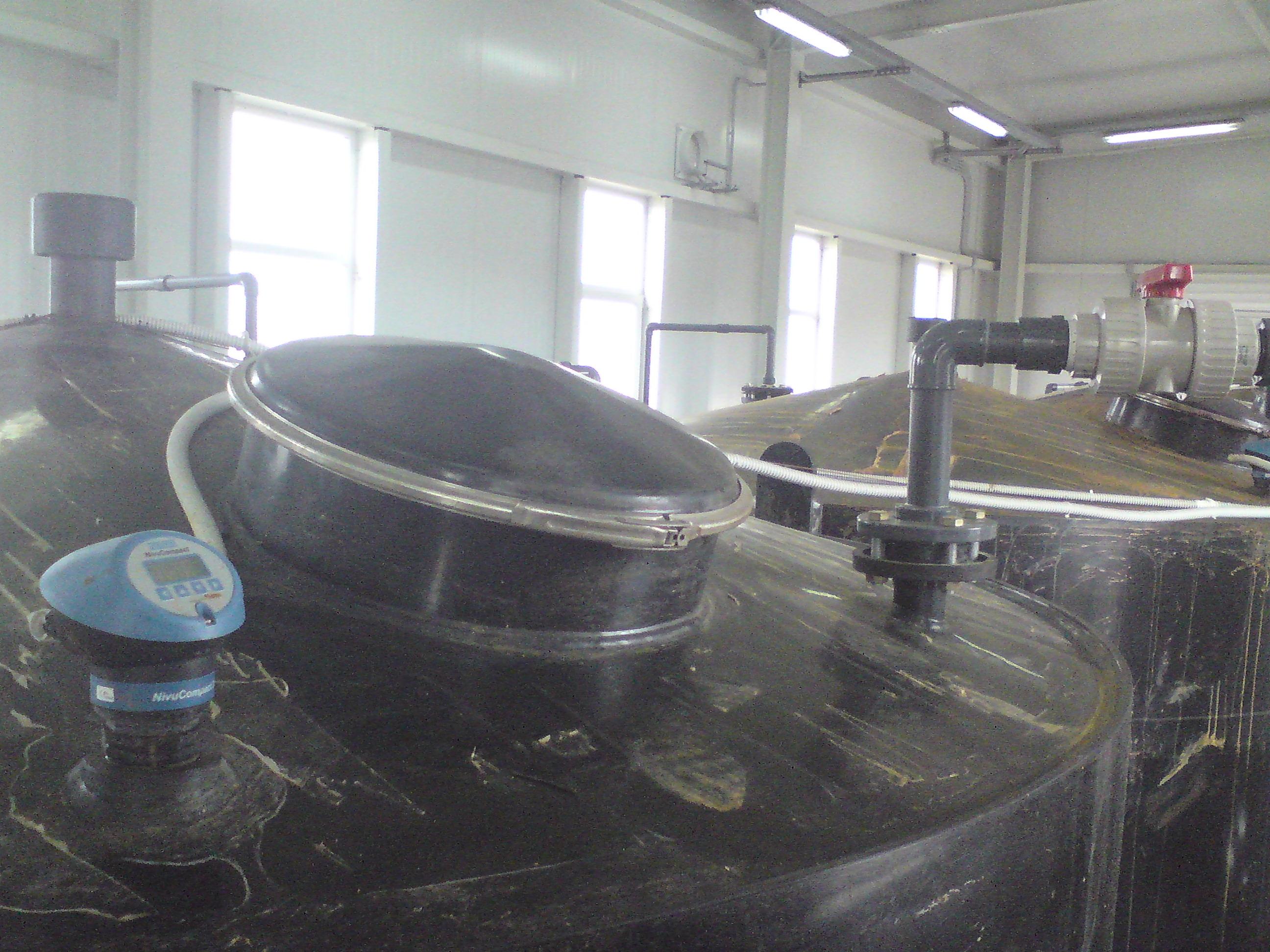 Измерване на ниво на флуид в резервоар- 25м3